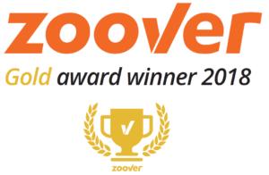 zoover golden award 2018 Vakantiehuis Jalon